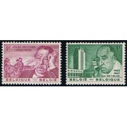 Belgium 1963 n° 1269/70** MNH