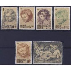 Belgium 1963 n° 1272/77** MNH