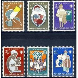 Belgium 1960 n° 1153/58** MNH