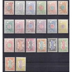Belgium 1902 n° TR28-47** MNH