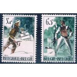 Belgium 1964 n° 1296/97** MNH
