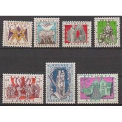 Belgium 1957 n° 1039/45** MNH