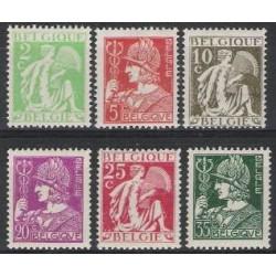 Belgium 1932 n° 335/40 used