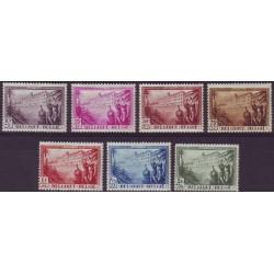 Belgium 1932 n° 356/62 used