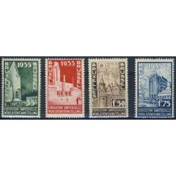 Belgium 1934 n° 386/89 used