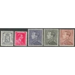 Belgium 1940 n° 527/31 used