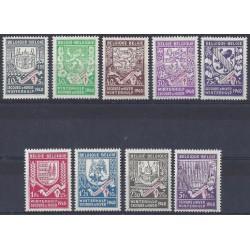 Belgium 1941 n° 547/55 used