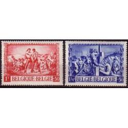 Belgium 1945 n° 697/98 used