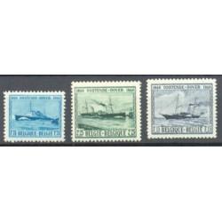 Belgium 1946 n° 725/27 used