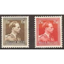 Belgium 1951 n° 845/46 used