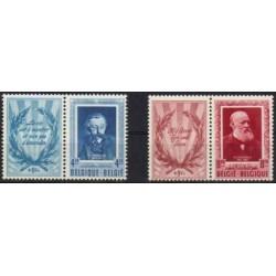 Belgium 1952 n° 898/99 used
