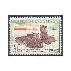 Belgium 1957 n° 1030 used