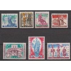 Belgium 1958 n° 1082/88 used