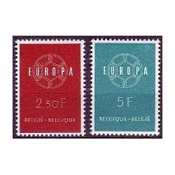 Belgium 1959 n° 1111/12 used