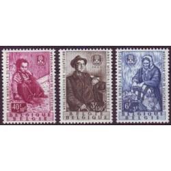 Belgium 1960 n° 1125/27 used