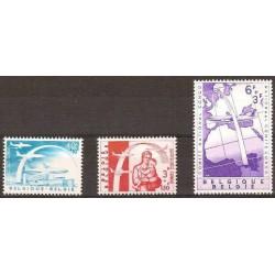 Belgium 1960 n° 1147/49 used