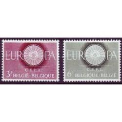 Belgium 1960 n° 1150/51 used
