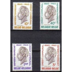 Belgium 1960 n° 1159/62 used