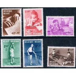 Belgium 1962 n° 1225/30 used
