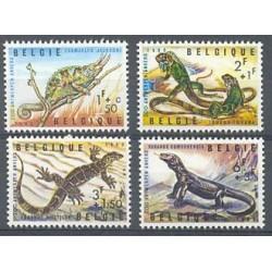 Belgium 1965 n° 1344/47 used