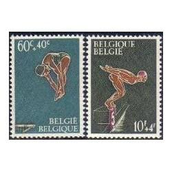 Belgium 1966 n° 1372/73 used