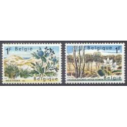 Belgium 1967 n° 1408/09 used