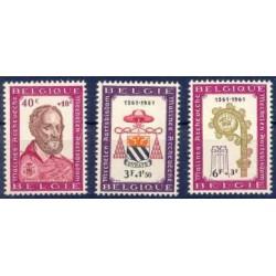 Belgium 1961 n° 1188/90** MNH