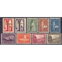 Belgium 1928 n° 258/66 used