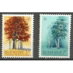 Belgium 1970 n° 1526/27 used
