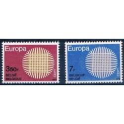 Belgium 1970 n° 1530/31 used