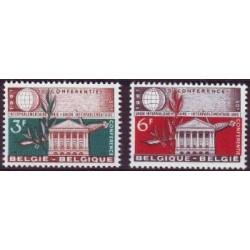 Belgium 1961 n° 1191/92** MNH