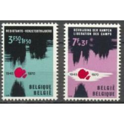 Belgium 1970 n° 1539/40 used