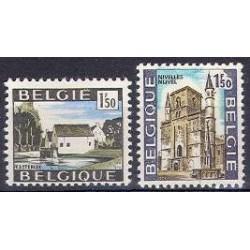 Belgium 1970 n° 1541/42 used
