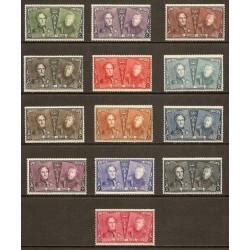 Belgium 1925 n° 221/33 used