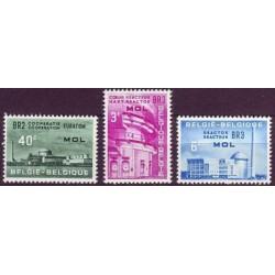 Belgium 1961 n° 1195/97** MNH
