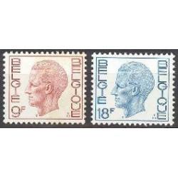 Belgium 1980 n° 1962/63 used