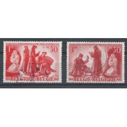 Belgium 1943 n° 623/24 used