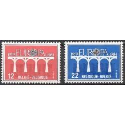 Belgium 1984 n° 2130/31 used