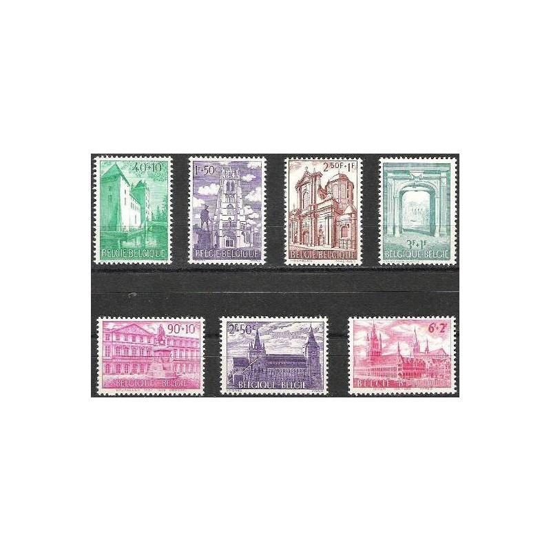 Belgium 1962 n° 1205/11** MNH
