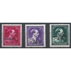 Belgium 1946 n° 724N/24P** MNH