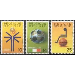 Belgium 1990 n° 2361/63 used