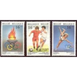 Belgium 1994 n° 2540/42 used