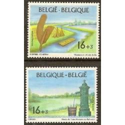 Belgium 1995 n° 2582/83 used