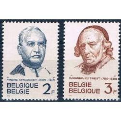 Belgium 1962 n° 1214/15** MNH