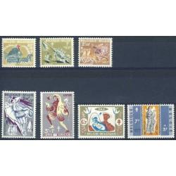 Belgium 1959 n° 1114/20 used