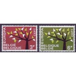 Belgium 1962 n° 1222/23** MNH