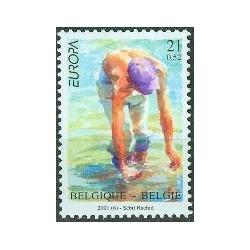 Belgium 2001 n° 2989 used