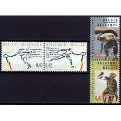 Belgium 2002 n° 3052/55 used