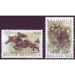 Belgium 2002 n° 3084/85 used
