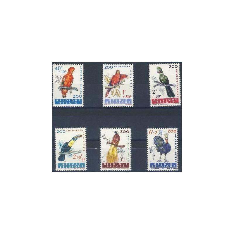 Belgium 1962 n° 1216/21** MNH